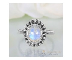 Moonstone Ring Royal Fortune - GSJ