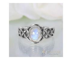 Moonstone Ring Pure Heartbeat - GSJ