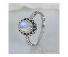 Moonstone Ring Modest Lure - GSJ