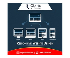 A Responsive Web Design means one design