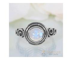 Moonstone Ring Angelic Vault - GSJ