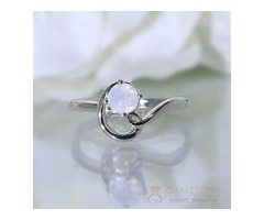Moonstone Rings Vogue - GSJ