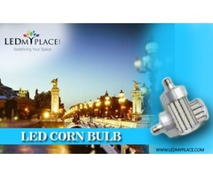LED Corn Light Bulb 100W -- A Must For Your Garage Or Warehouse!