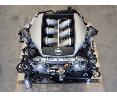 JDM Nissan R35 GTR VR38 VR38DETT Twin Turbo Engine 6 Speed Dual Gearbox GR6 J062
