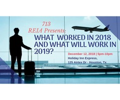 713 REIA Presents: WHAT WORKED IN 2018 AND WHAT WILL WORK IN 2019! Landon Rothstein