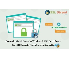 Unlimited Domain And Subdomain Security With Comodo Multi Domain Wildcard SSL