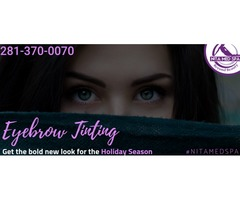 Certified Brow Tinting Services in Houston