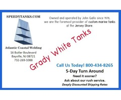 How Do I Get Fuel Tanks For Grady White Boat?