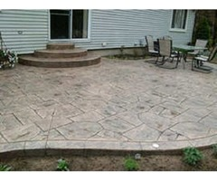 Why Stamped Concrete Is Best For Backyard Décor