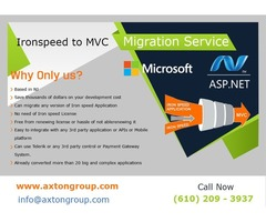 Migrate Iron Speed Application to Microsoft ASP.Net MVC Platform