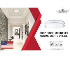 Use Flush Mount LED Ceiling Light and Save Energy in a Right Way