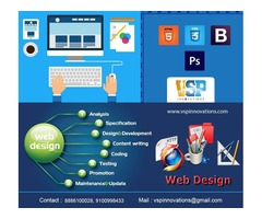 Web Designing & Development Services at Low Prices – VSP Innovations