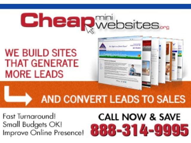Cheap Mini Websites $399  | free-classifieds-usa.com