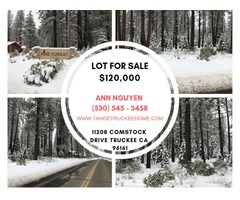 Lot for Sale | 11208 Comstock Drive Truckee CA 96161