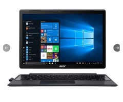 "Acer Switch 5 SW512-52-55YD with Stylus 12"" 2-in-1 Laptop Computer - Black"