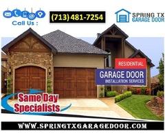 New Garage Door Installation ($25.95) | Spring Houston, 77379 TX