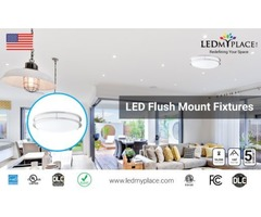 Use Flush Mount Led Lights With Attractive Designs and Styles