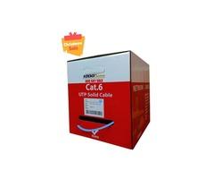 Cat6 Plenum 1000FT Solid Cable