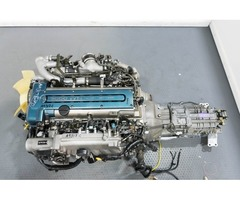 JDM Toyota Supra 2JZ-GTE Twin Turbo VVTi Engine with V161 6 Speed Getrag Transmission