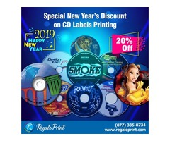 6.New Year's Eve Discount! Save 20% on all Labels Printing
