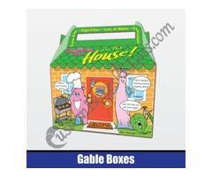 Gable Boxes | Custom Printed Gable Boxes