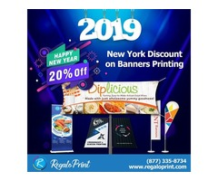 New Year, New Offers; Get 20% off on all Banners Printing