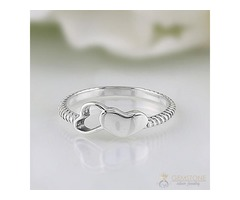 Sterling Silver ring delicate clessa - GSJ