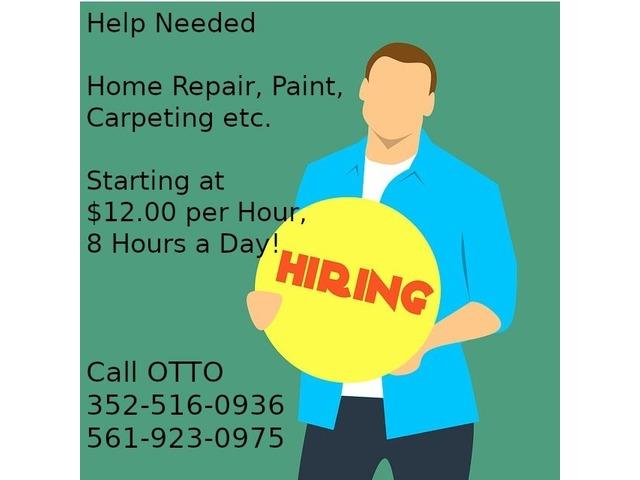 Help Needed - Home Repair, Paint, Carpeting etc. | free-classifieds-usa.com