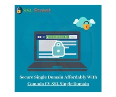 Buy Cheap Comodo EV SSL Single Domain Certificate Now!