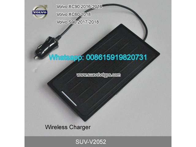 Volvo XC90 XC60 S90 QI wireless charger quick charge fast wireless