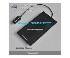 Volvo XC90 XC60 S90 QI wireless charger quick charge fast wireless charging