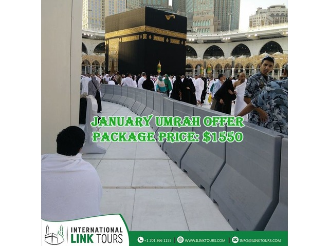 Get Affordable January Umrah Package   free-classifieds-usa.com