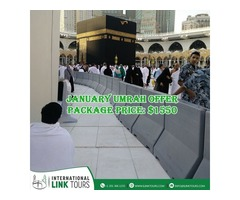 Get Affordable January Umrah Package