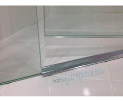 Shower Door Threshold - Frameless Threshold Strip | pFOkUS