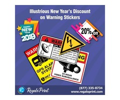 New Year New Gear; Get New Year's 20% Discount on Stickers