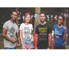Design on Tshirts