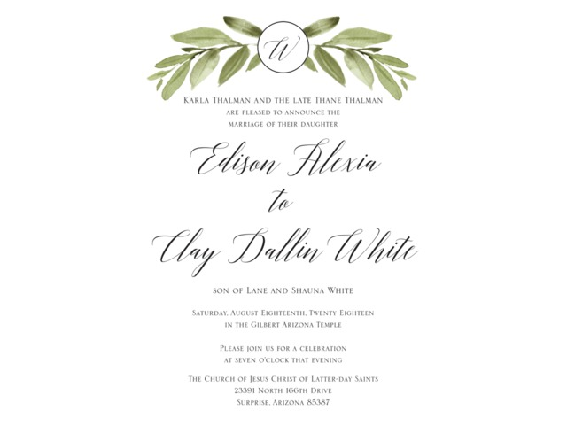 Beautiful Wedding Announcements.Beautiful Wedding Announcements Utah Wedding Ceremony American