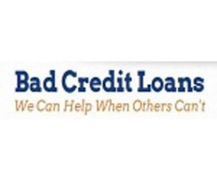Bad Credit Loans - Where Credit Doesn't Have To Be A Problem