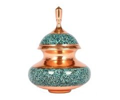 TURQUOISE SUGAR CONTAINER CODE:182