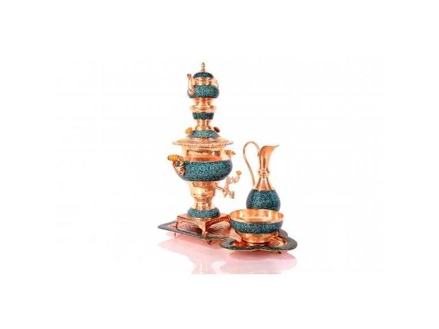 Turquoise samovar service code:284 | free-classifieds-usa.com
