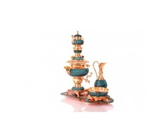 Turquoise samovar service code:284