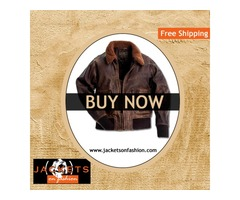 Brown Aviator Jacket