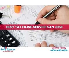Business tax preparation service   best tax filing service san jose