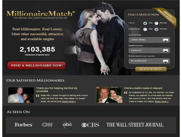 Top 5 Millionaire Dating Site Reviews | free-classifieds-usa.com