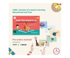 SCIFIKIDS - INSTRUMENTAR Augmented Reality Educational Kit (IOS & Android)