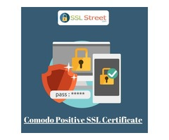 Comodo Positive SSL Certificates With 99.3% browsers compatibility