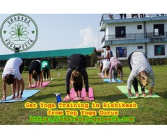 Get Yoga Training in Rishikesh from Top Yoga Gurus