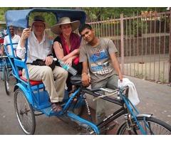 Old Delhi Rickshaw Ride | Rickshaw Tour in Delhi
