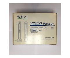 Wevi Video Wave VW-5 Wireless Video Transmission System RX/TX