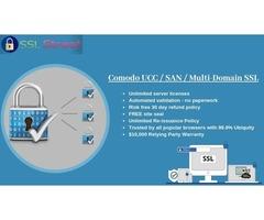 Secure 100 Domains On a Single SSL Certificate With Comodo UCC / SAN / Multi-Domain SSL